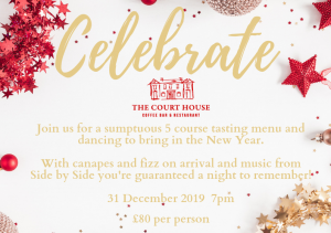 hogmanay party at the courthouse kinross